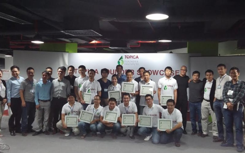 Topica Founder Institute khóa 3 kết thúc: 12 dự án tốt nghiệp