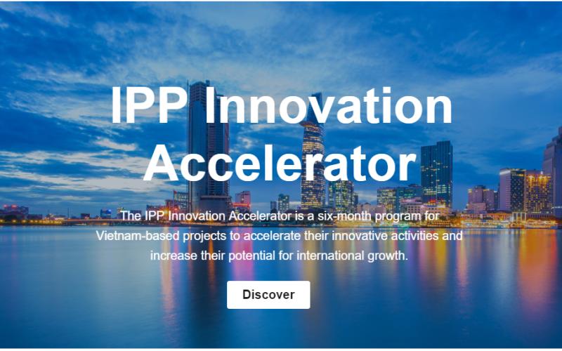Zinmed là một trong những ứng viên xuất sắc trong Chương trình Thúc đẩy đổi mới sáng tạo IPP