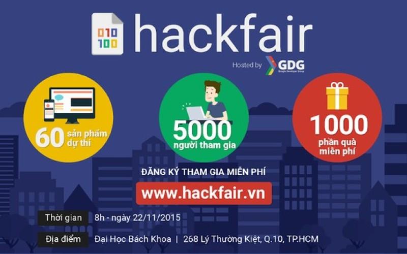 Zinmed tham gia sự kiện Google HackFair đầu tiên tại Việt Nam